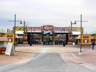 Der Columbus Zoo and Aquarium  in Ohio © Adolphus79